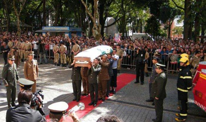 Velório do ex-presidente Itamar Franco ocorre em Belo Horizonte