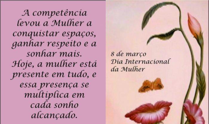 HOMENAGEM DO GRUPO SÃO PEDRO AO DIA INTERNACIONAL DA MULHER PARABENS